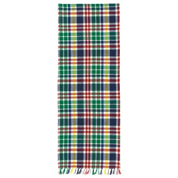 Mcguire 100% Cotton Plaid Table Runner (Set of 2) by August Grove